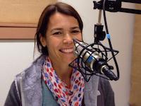 Jen Breen, founder of Bainbridge Yoga House, at BCB's studio
