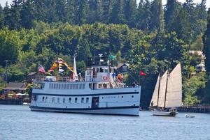 Cruise around Bainbridge July 20 in the Steamship Virginia V