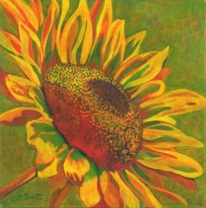Acrylic paintings by Joanne Schoener Scott.