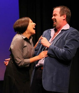 Shannon and Ted Dowling in Ned Thorne's Anastasia at last year's festival
