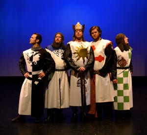"A cast of 19 will bring Monty Python's ""Spamalot"" to life at BPA in December."
