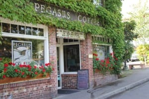 Pegasus Coffee House, on Parfitt Way in Winslow.