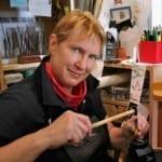 Jewelry artist Anne Bulmer Brewer