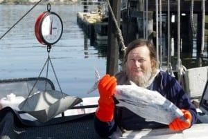 Fisherman Paul Svornich
