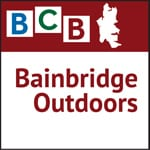 Logo for podcast show Bainbridge Island Outdoors
