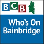 Logo for podcast show Who's On Bainbridge Island