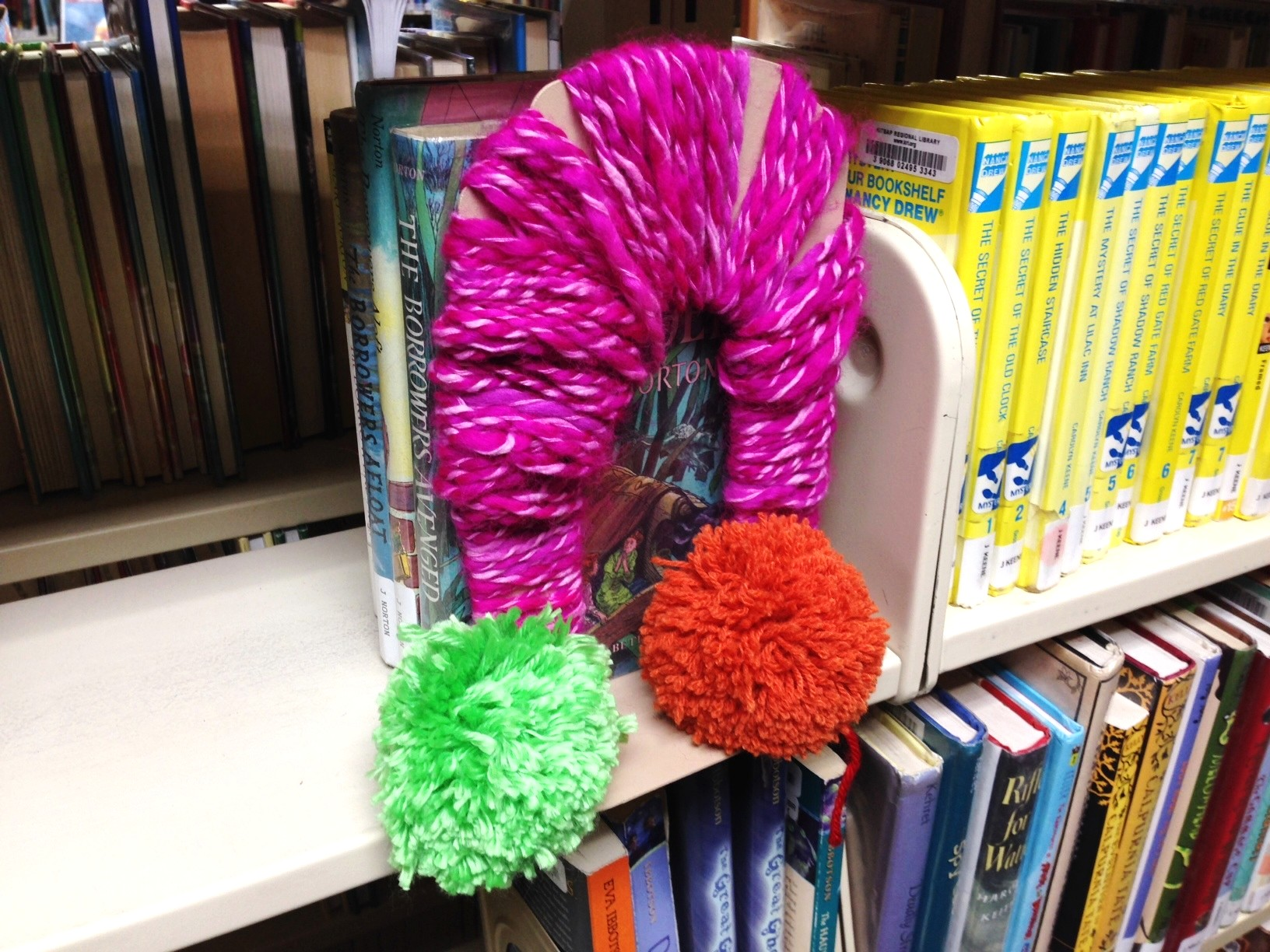 "<i>Podcast: What's Up Bainbridge:</i> <br>""Yarn Bomb"" art event at the Library on Aug 1st"