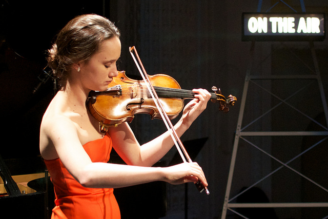 <i>Podcast: Bainbridge On Campus:</i> <br>Sophia Stoyanavich – high school senior and violinist