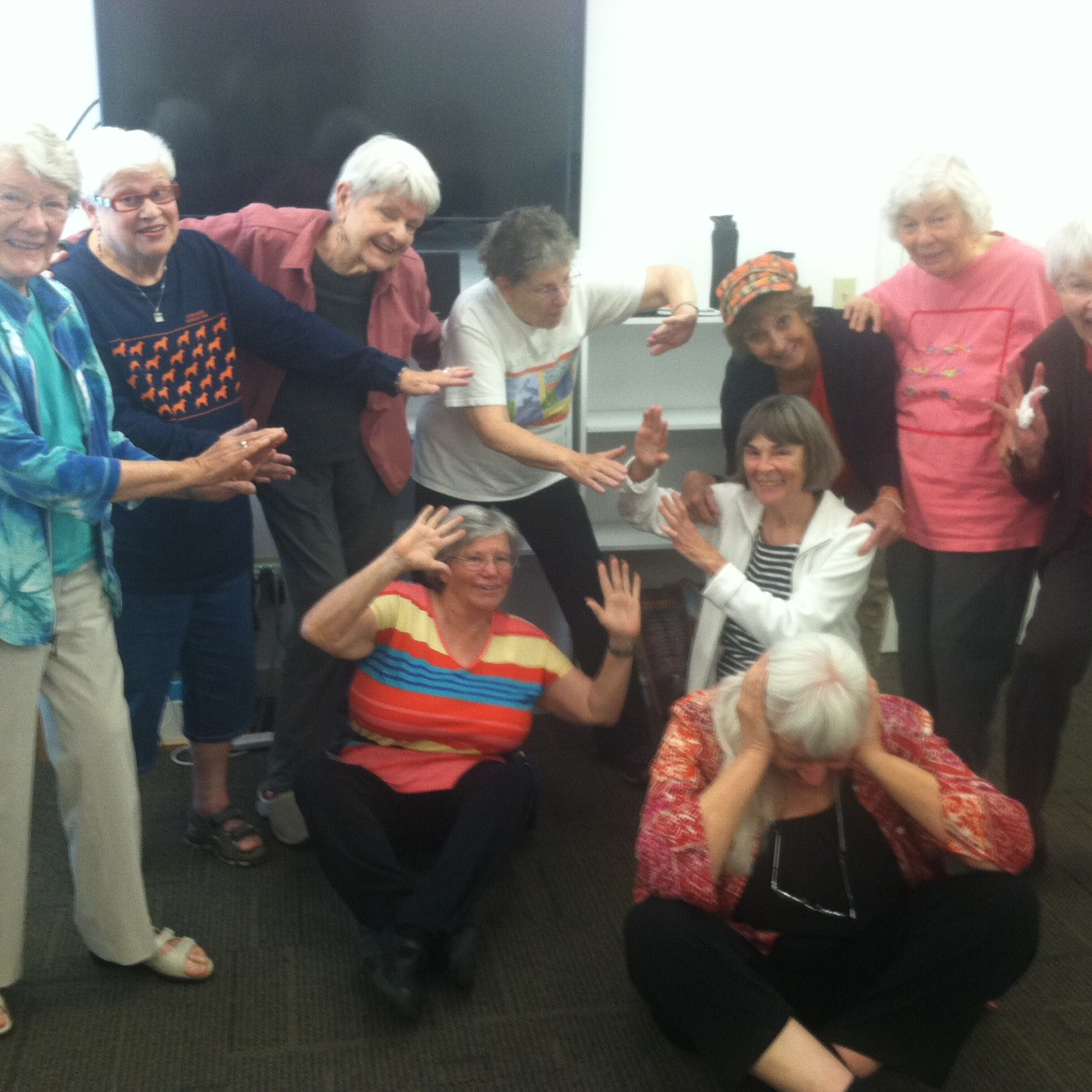 <i>Podcast: What's Up Bainbridge:</i> <br>Liberation Laughter Class Starts Oct 6th at Senior Center