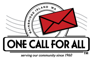 "<i>Podcast: What's Up Bainbridge:</i> <br>One Call for All ""red envelope campaign"" starts October 1"