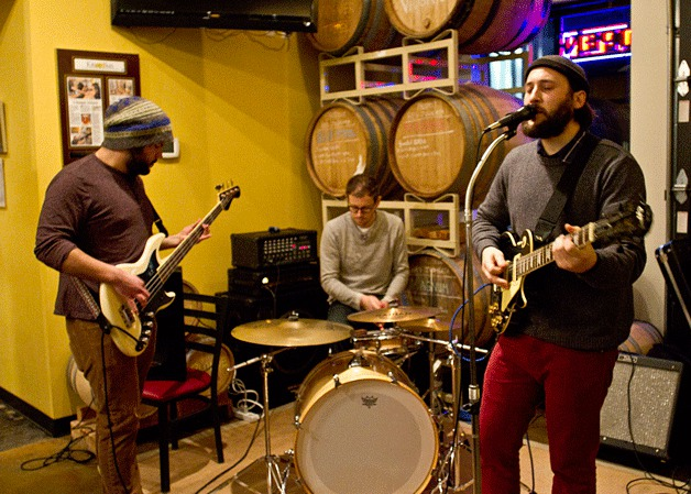 <i>Podcast: What's Up Bainbridge:</i> <br>Brewery at Coppertop has live music every Wednesday evening