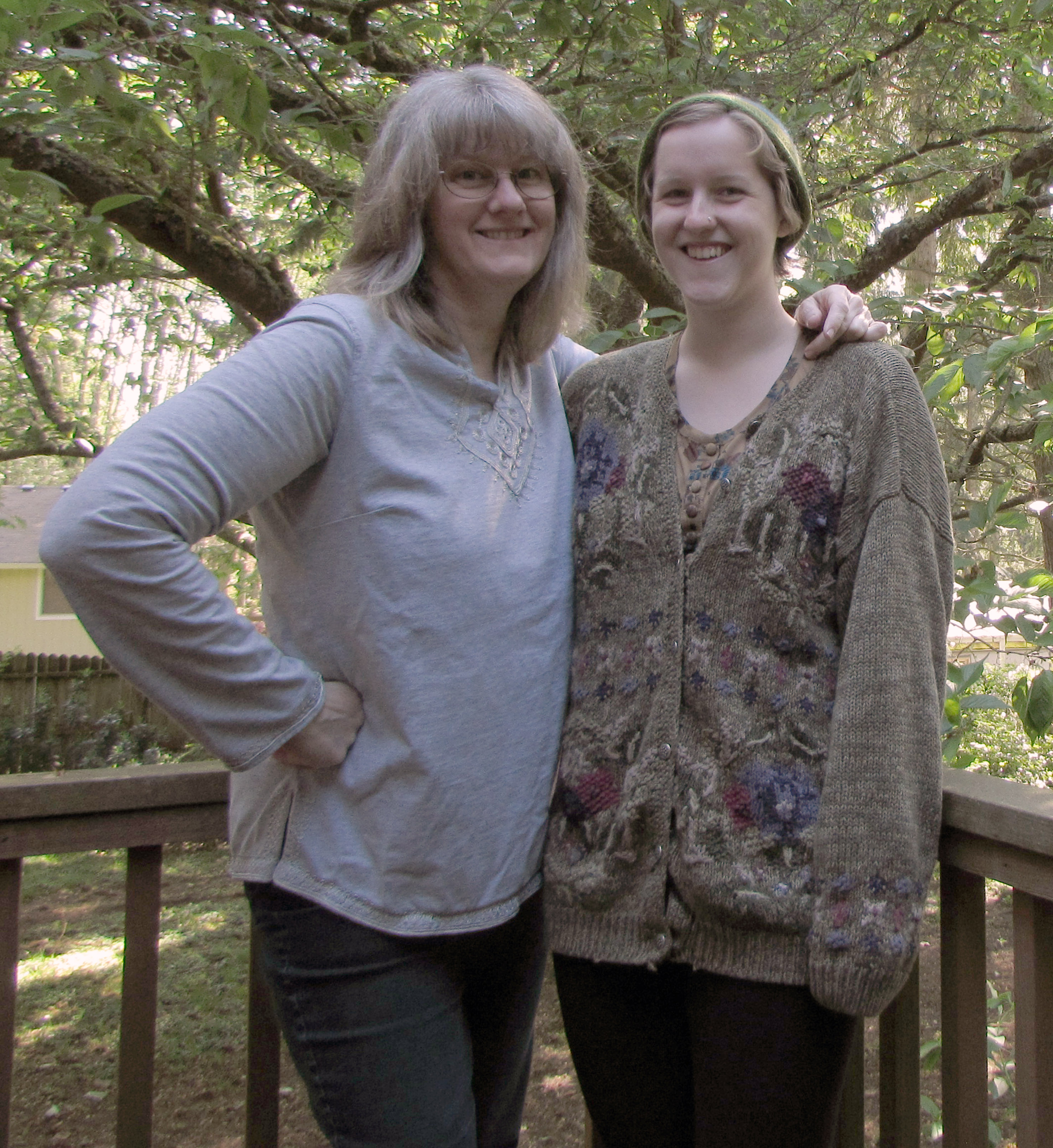 <i>Podcast: What's Up Bainbridge:</i> <br>Sat May 16th hear this Mother-Daughter story of a 1500 mile walk to remember