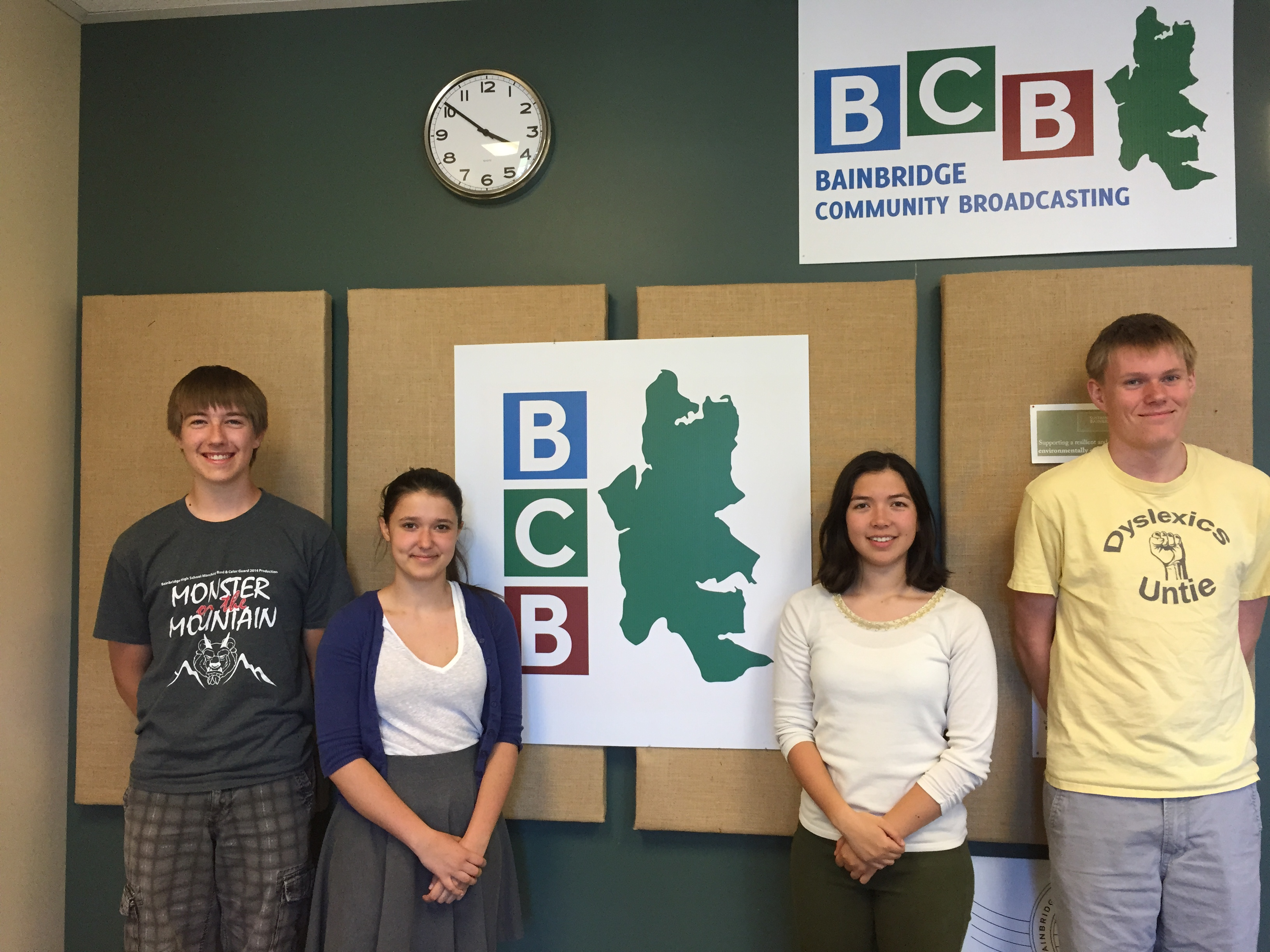 <i>Podcast: Bainbridge On Campus:</i> <br />Four teens are helping to build community in Fort Ward