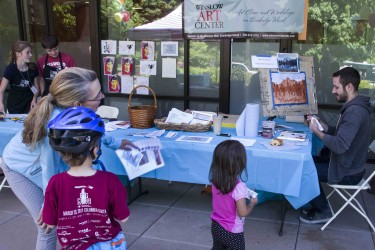 <i>Podcast: What's Up Bainbridge:</i> <br>Saturday July 18th Family Art Day at Art Museum and Kids Museum