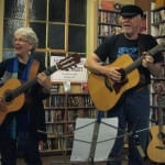 <i>Podcast: What's Up Bainbridge: </I><br>Remembering Pete Seeger: Hank & Claire at the Bainbridge Library