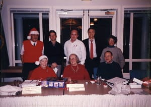 1995 City Council . Back row: Ben Dysart, James Docter, Charles Averill, Andy Maron, Annette Stollman. Front row: Shirley Keith, Janet West (Mayor), Dwight Sutton.