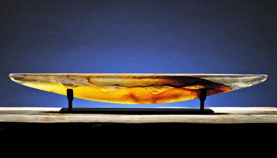 <i>Podcast: Arts and Artists on Bainbridge:</i> <br>Glass sculptor Steve Maslach talks with Art Museum curator Greg Robinson