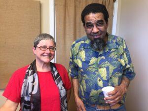 Yes! Magazine editor Sarah van Gelder and University of Montana professor George Price
