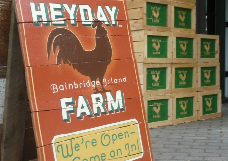 <i>Podcast: Tastes of Bainbridge:</i> <br>Uniquely Bainbridge: Founders are also hands-on innovators at Heyday Farm