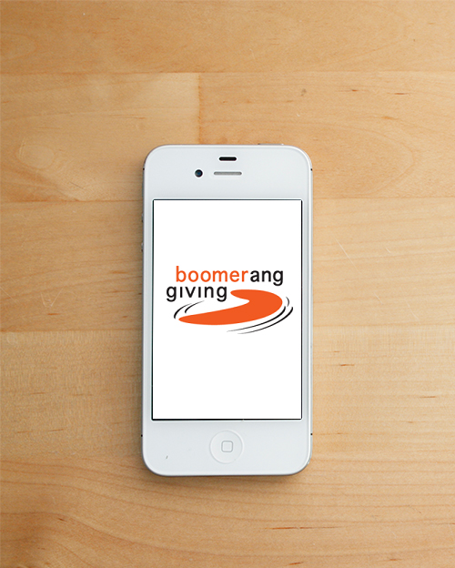 <i>Podcast: Community Cafe Bainbridge:</i> <br>Boomerang Giving has an idea and an app for generous Seniors
