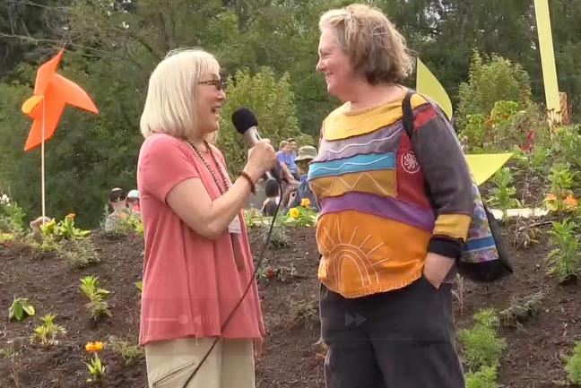 <i>Bainbridge Video Podcasts:</i> <br>Owen's Playground grand opening – Meet Ann Lovejoy