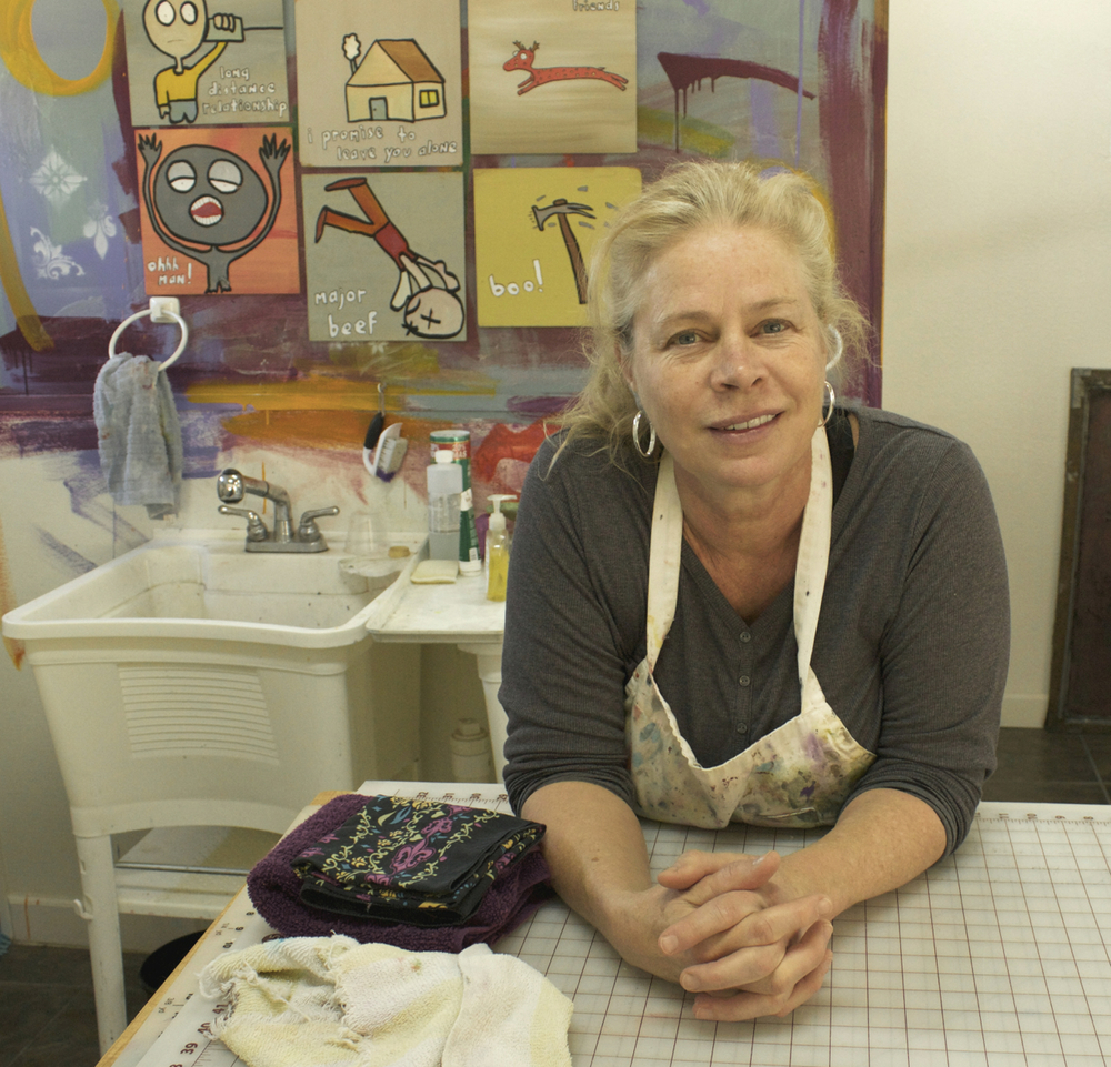 <i>Podcast: What's Up Bainbridge:</i> <br>Quilt artist giving workshop and talk at Art Museum Aug 12-13