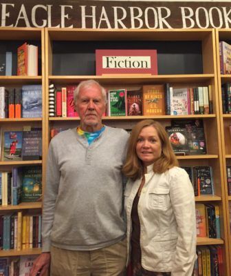 Jane and Dave Danielson, the new owners of Eagle Harbor Books