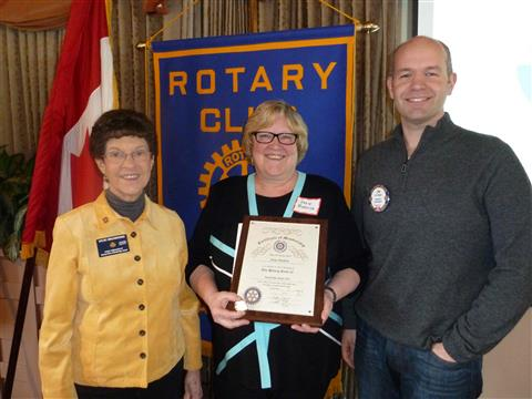 <i>Podcast: Who's On Bainbridge:</i> <br>Susie Burdick is new president of Rotary Club of Bainbridge Island