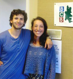 <i>Podcast: Tastes of Bainbridge:</i> <br>Meet Farm Interns Li Schmidt and Ruven Stein