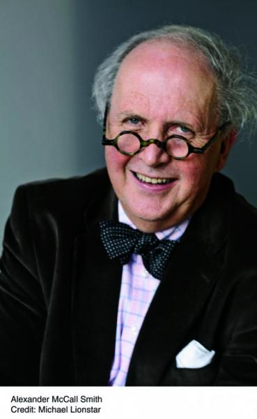 <i>Podcast: What's Up Bainbridge:</i> <br>Distinguished Scottish author Alexander McCall Smith will speak on Oct 15th