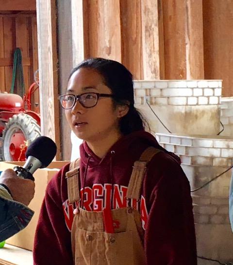 <i>Podcast: Tastes of Bainbridge: </i><br>Meet Heyday Farms Intern Catherine Nguyen