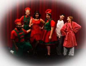 "Some of the cast of ""A Christmas Story"", which opens Dec 2nd at BPA"