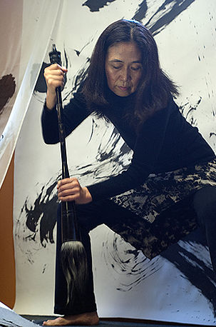 <i>Podcast: What's Up Bainbridge: </i><br>Yoko Murao returns to teach calligraphy, July 15 at the Bodhi Center