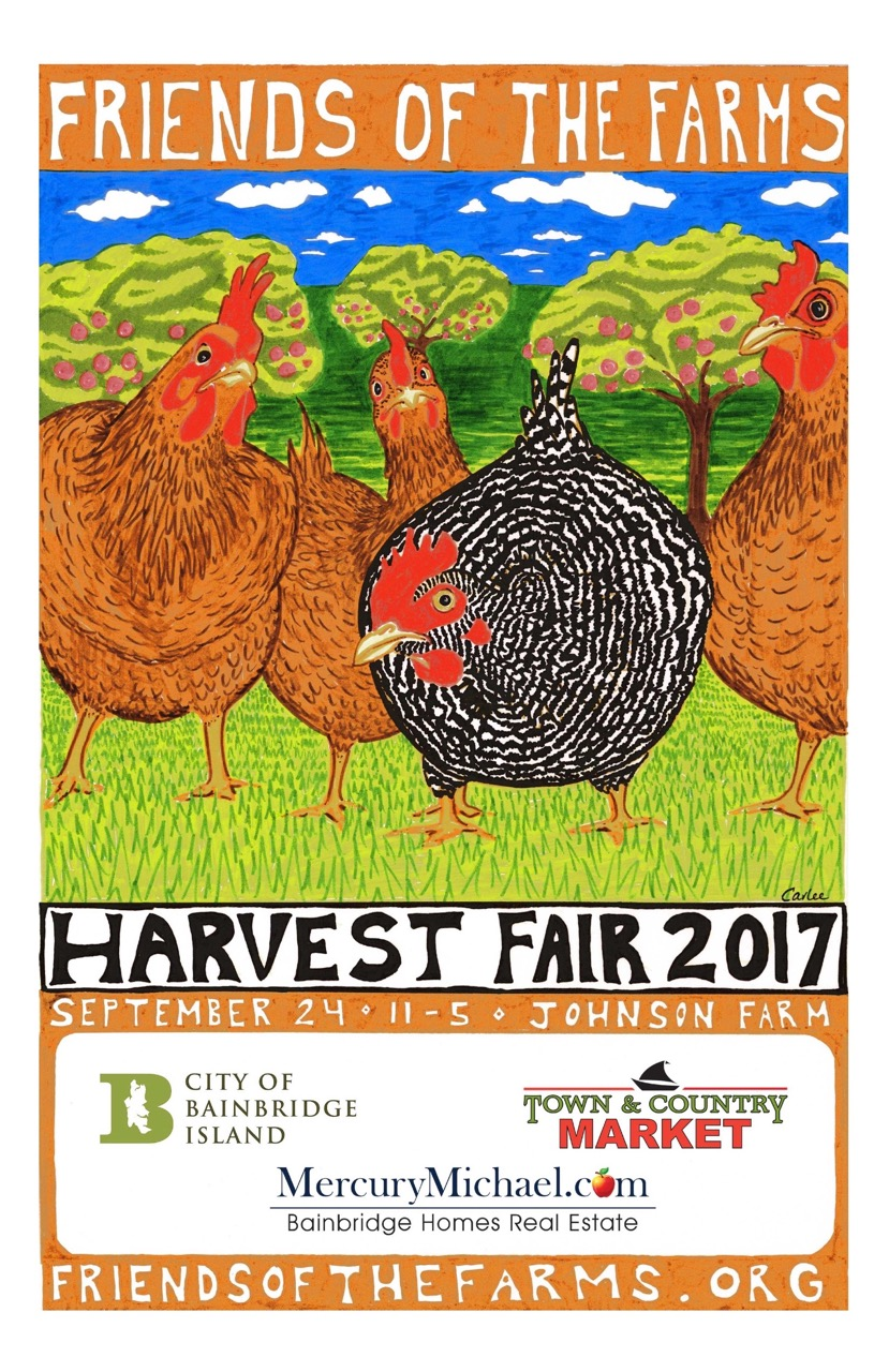 <i>Podcast: What's Up Bainbridge: </i><br> 16th Annual Bainbridge Island Harvest Fair at Johnson Farm September 24