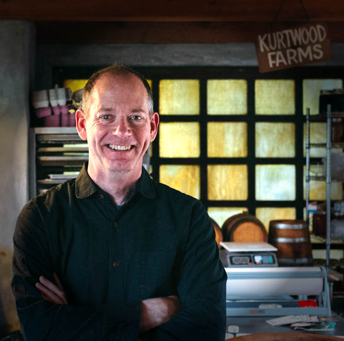 <i>Podcast: What's Up Bainbridge: </i><br>Farm Chef Kurt Timmermeister at Eagle Harbor Books November 30