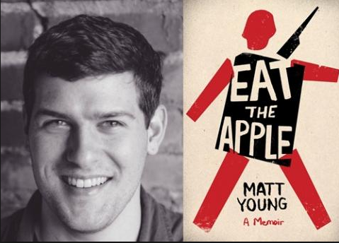 <i>Podcast: What's Up Bainbridge: </i><br>Matt Young's <i>Eat the Apple</i> at Eagle Harbor Books April 19