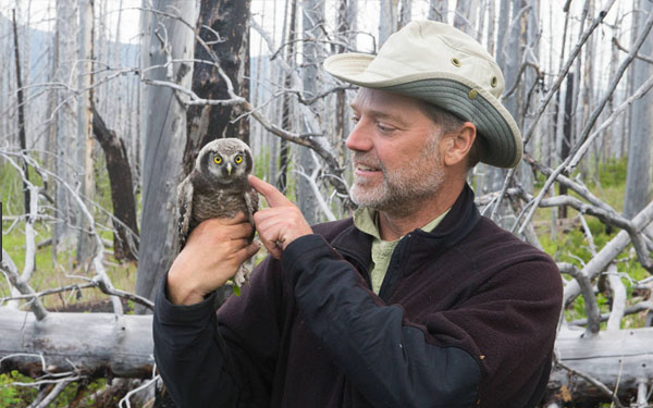 <b>Paul Bannick's owl photographs open at the Library November 2</b>