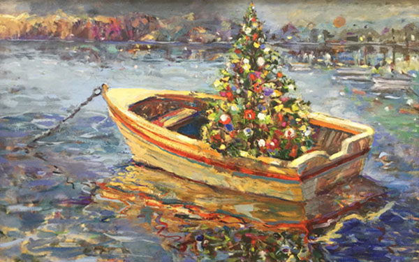 <b>Artist Peggy Brunton at the Library this December</b>