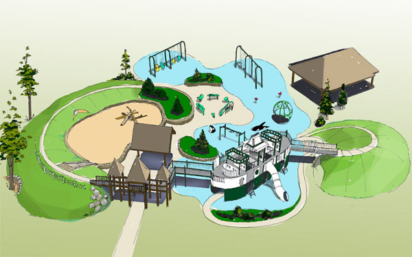 A Facelift for Battle Point's KidsUp Playground