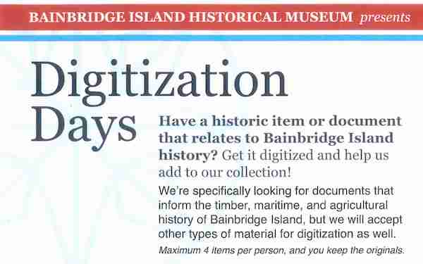 BIHM offers Digitization Days May 18,19