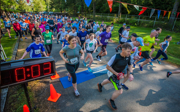 Fourth Annual Trillium Trail Run: Saturday May 11