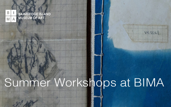 Poetry, book binding, and linoleum printing: explore your creativity at BIMA!