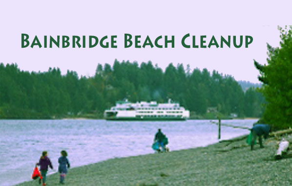 Join the Bainbridge Beach Cleanup Saturday, September 28!