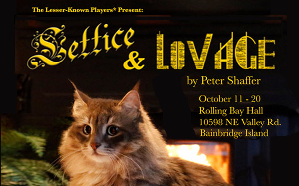 Peter Shaffer's Lettice and Lovage opens at Rolling Bay Hall October 11