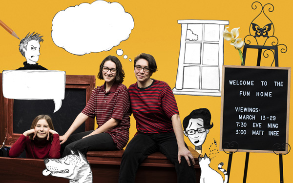 Tony-Award-Winning musical, Fun Home, opens at BPA March 13th