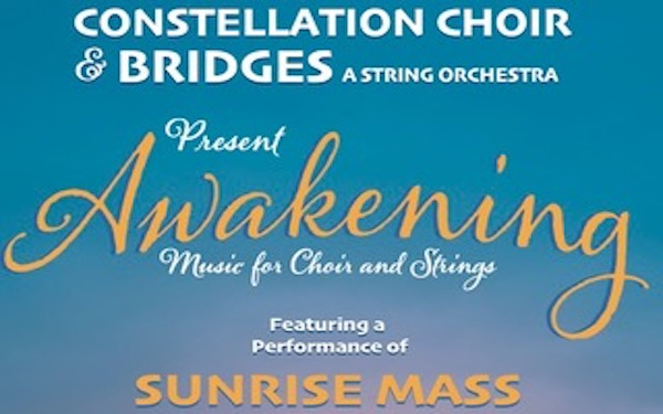 Awakening, a winter concert of voices and strings February 15 at BPA